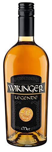 Original Wikinger Met Legende | Honigwein hergestellt aus mildwürzigem Berghonig | 1 x 750ml