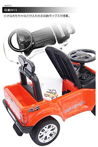 足けり乗用カーフォードレンジャー乗用玩具足けり車LEDヘッドライト点灯クラクション&ミュージック乗り物車のおもちゃ乗物玩具(WHITE)