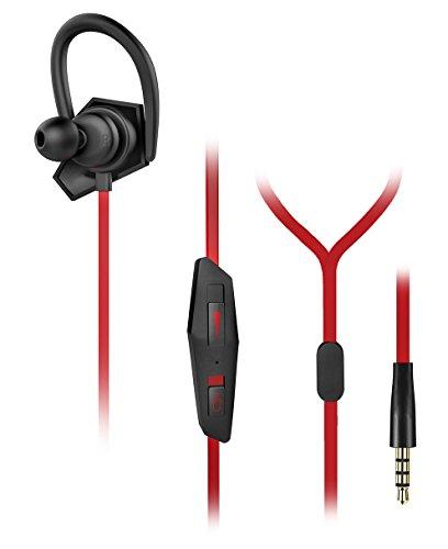 Venom E-Sports In Ear Stereo Gaming Headset für PS4 & Xbox One sowie allen Geräten mit 3,5mm Kopfhörer Buchse - 2,5mm Adapter beiliegend