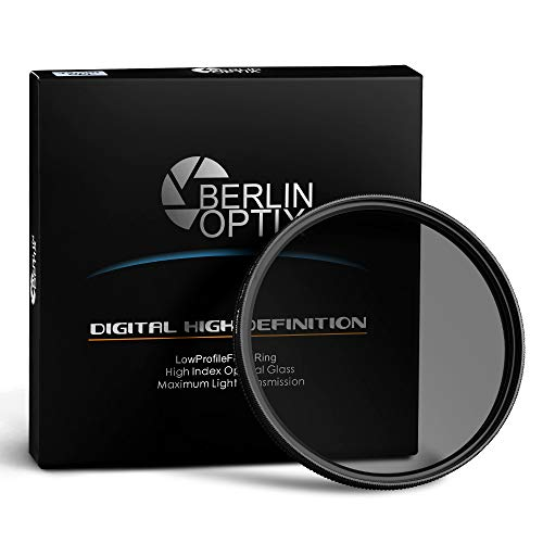 Berlin Optix Variabler Premium CPL Pol Filter 67mm ∙ Zirkularer Polarisationsfilter für hohe...