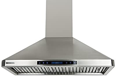 """XtremeAir PX02-W30, 30"""" wide, 900 CFM, LED lights, Baffle Filters W/Grease Drain Tunnel, 1.0mm Non-Magnetic Stainless Steel Seamless Body, Wall Mount Range Hood"""