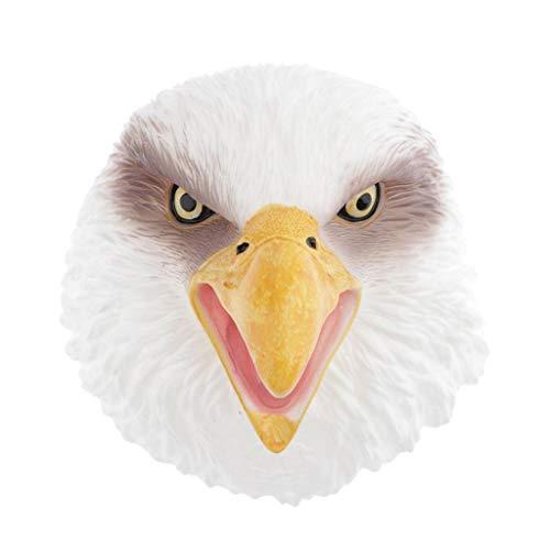 Sharplace Marionetas de Mano de Animales Salvajes Marionetas de Mano de Fuga de Animales Juguetes para Contar Cuentos de Hadas E Historias para Bebés Y Niños - Águila Marina Blanca