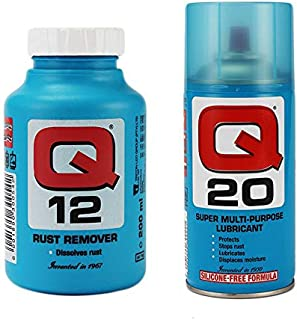 Q 12 Rust Remover, 200 Ml With Q 20 Super Multi-Purpose Lubricant, 150 Gm