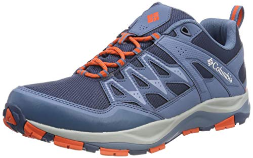 Columbia WAYFINDER Outdry, Zapatos Multideporte para Hombre, Gris (Zinc Red Quartz 492), 42 EU