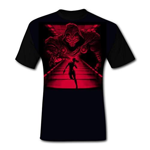 Spy Vs Master Tシャツ メンズ 夏服 メンズ ポリエステルー 半袖 丸首 グラデーション ロングTシャツ 大きいサイズ ゆったり トップス 五分袖 ビッグTシャツ おしゃれ カジュアル 春 夏