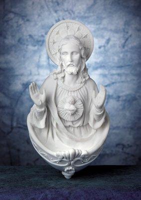 Sacred Heart of Jesus Heiligen Wasser Schriftart