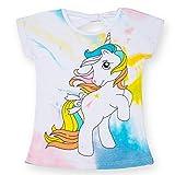 TTYAOVO Camiseta de Algodón Unicornio para Niñas, Camiseta de Manga Corta para Niños...