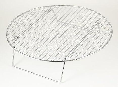 Rejilla De Enfriamiento De Alambre De Cromo Multiusos 9 ¼ Pulg