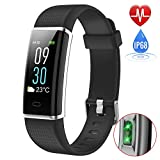 Fitness Tracker, Activity Tracker with Heart Rate Monitor, Pedometer Watch with Sleep Monitor