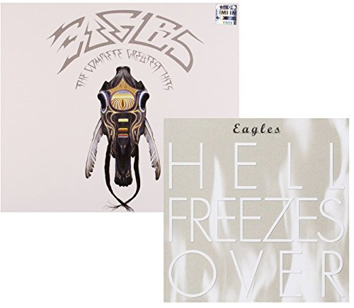 The Complete Greatest Hits - Hell Freezes Over (Live) - Eagles - 2 CD Album Bundling