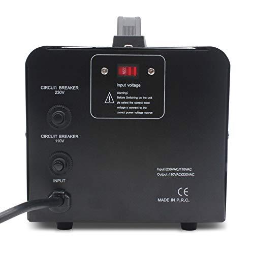 Transformador de Potencia de 3000W 220V a Transformador de elevación de 110V 110V a 220 V conversor de Voltaje 2000w