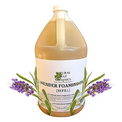 Natural Way Organics Lavender Foaming Hand Soap Refill Gallon 128oz.