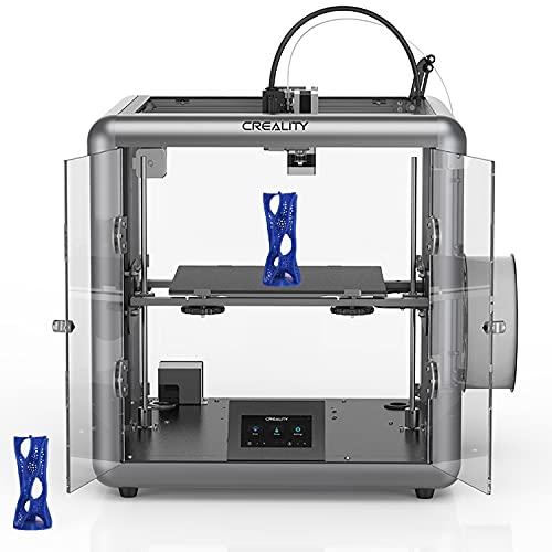DBKJ 3D Drucker Kreality Ender Full Color Touchscreen Ultra-ruhig Drucker Mit Lebenslauf Druckfunktion 220x220x250mm