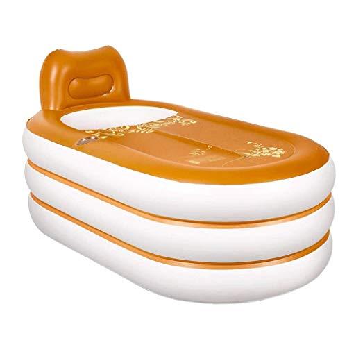 Diaod La bañera Plegable Adultos Bañera Infantil Inflable de la bañera Inflable for Adultos Doble Hogar Baño de Aislamiento Espesar Bañera Aumentar