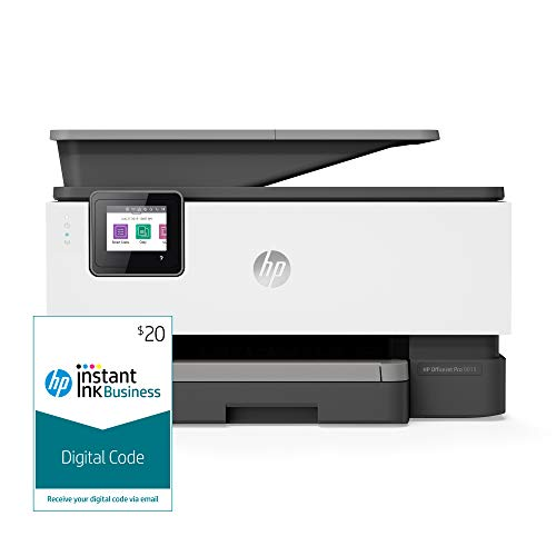 HP OfficeJet Pro 9015 All-in-One Wireless Printer, with Smart Tasks and Instant Ink Business $20...