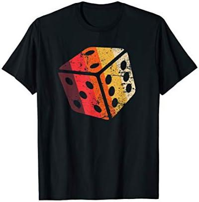Retro Vintage Board Game Dice Shirt RPG Geek Nerd Boys Gift T Shirt product image