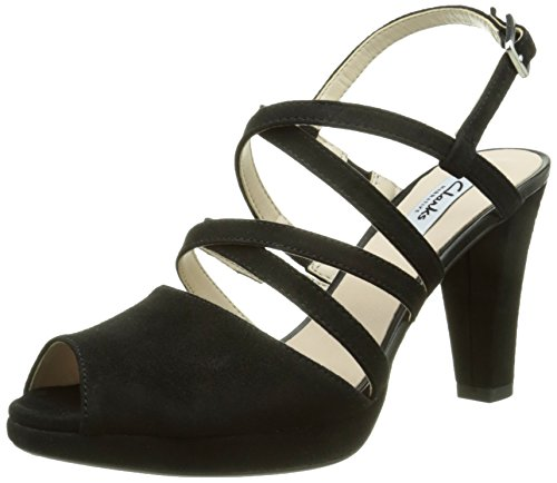 Clarks Damen Kendra Cool Pumps, Schwarz (Black SDE), 41.5 EU