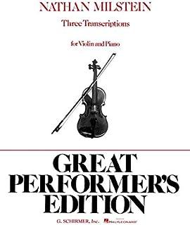 3 Transcriptions: Violin and Piano