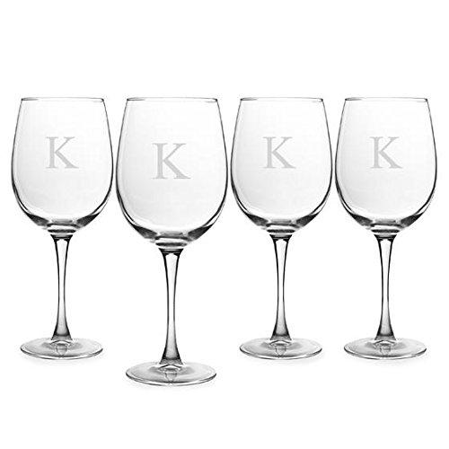 Home Decorators Collection Wine Glasses Set of 4, White, K