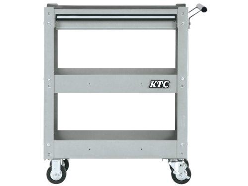 京都機械工具(KTC) ツールワゴン 3段1引出し シルバー SKX2613S (2020-21 SK品)