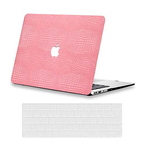AUSMIX Funda para MacBook Air de 13 pulgadas 2020 2019 2018 Release M1 A2337 A2179 A1932 Premium de piel Shell Case plástico duro y cubierta de teclado para el último MacBook Air de 13 pulgadas, polvo