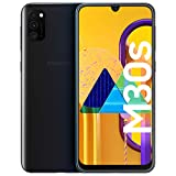samsung galaxy m30s smartphone, display 6.4 fhd+, super amoled, 64 gb espandibili, ram 4 gb, batteria 6000 mah, 4g, dual sim, android 9 pie, nero