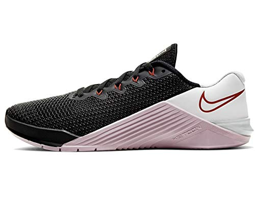 Nike Women's Fitness Shoes , Black Noble Red Pistachio Fros 0 , 8.5 US