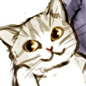 100万回描かれてる漫画家と猫の漫画