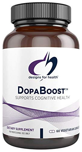Designs for Health DopaBoost - Dopamine Support Supplement for Men + Women - Mucuna Extract, Vitamin B6, Acetyl-L-Tyrosine, Quercetin + EGCg - Non-GMO + Vegetarian (60 Capsules)