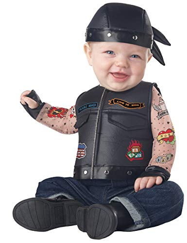 California Costumes Baby Boys' Vest, Black, 12-18 Months