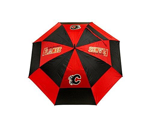 Team Golf NHL Golf-Regenschirm mit Schutzhülle, doppelter Baldachin, Windschutz-Design, automatischer Öffnungsknopf, Unisex-Erwachsene, Einheitsgröße
