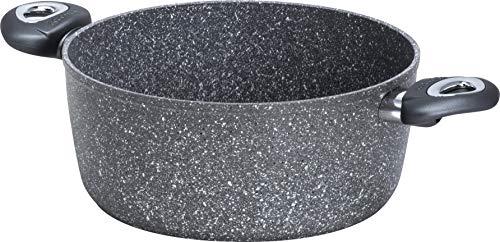 Aeternum 3.0 Full Induction Madame Petravera Casseruola (2 Manici), Alluminio, Adatta all'induzione, 20 cm, Metallo