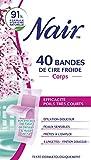 Nair Bandes de Cire Froide à l'Extrait de Fleur de Cerisier/Huile de Riz 2,6 g