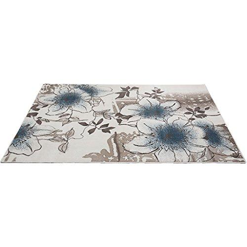 Tapijt Nordic stijl 3D gesneden polypropyleen tapijt antislip nachtkastje hoekbank rechthoekig mat elastisch zacht en duurzaam voor woonkamer klassiek