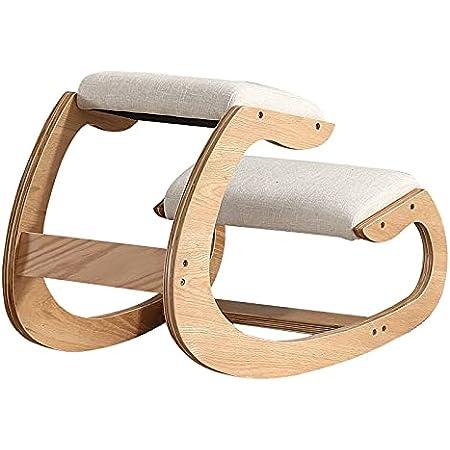 GongH&one バランスチェア 木製 プロポーションチェア オフィスチェア 姿勢サポート 北欧スタイル 学習椅子 ニーリングチェア 学習チェア 姿勢矯正 ナチュラル