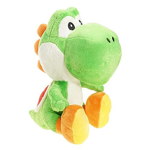 LINGJIANG El Juguete es Suave Big 26cm Green Dragon Yaoxi Super Mario Plush Doll Mary Louie