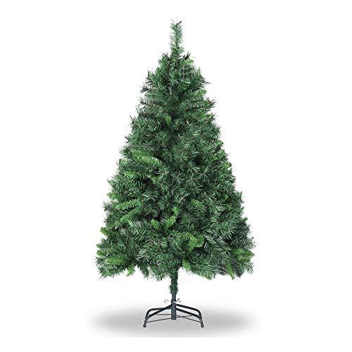 SALCAR Árbol de Navidad de 150 cm, Árbol Artificial con 40