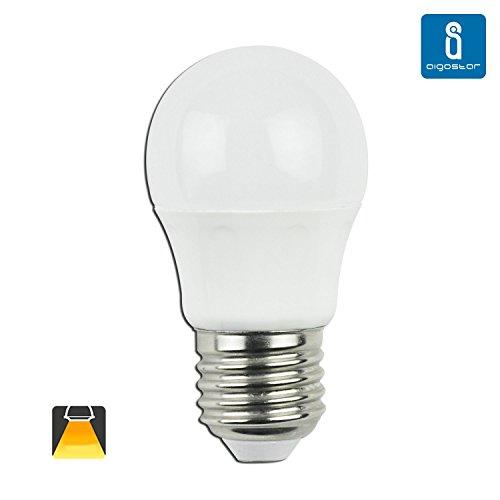 Aigostar 175948 Bombillas LED G45 esferica, 4W, casquillo gordo E27, L