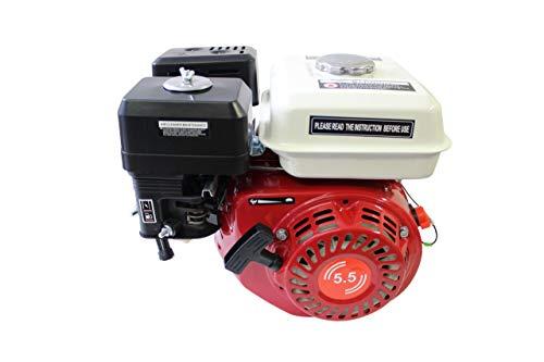 Benzinmotor 5,5 PS Secura 168F Kartmotor Leichtstartmotor Standmotor 4-Takt