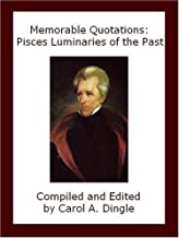 Memorable Quotations: Pisces Luminaries of the Past