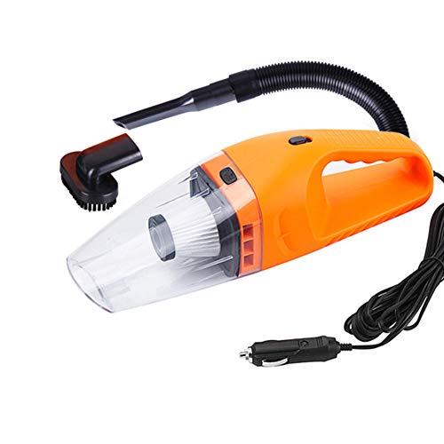 Aspirateur Voiture Portable Mini 120 W 12V 5M Humide Et Sec Double Ligne Outil De Nettoyage De Voiture,Orange