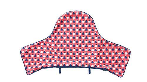 IKEA Anti-Lop Kissenbezug, Blau / Rot