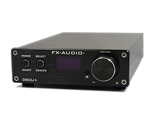 『FX-AUDIO- D802J+ [ブラック] ハイレゾ対応・3系統デジタル入力+アナログ入力 フルデジタルアンプ(リモコン付属)』の1枚目の画像
