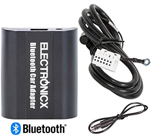 Electronicx BTA-VW12 Bluetooth AUX Adapter Freisprecheinrichtung USB-Ladebuchse passend für VW Audi Skoda