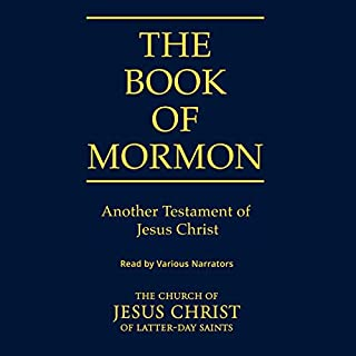 Book of Mormon audiobook cover art