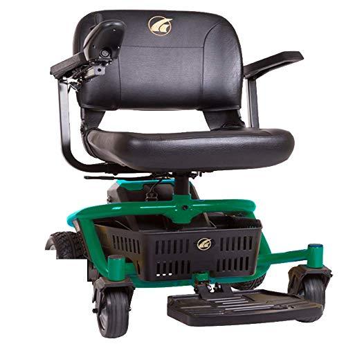 Golden Technologies Literider Envy GP162 Electric Travel Powerchair, Emerald