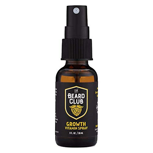 The Beard Club | Beard Growth Vitamin Spray | #1 Beard Growth Product Manufacturer in America | Paraben-Free Beard Care