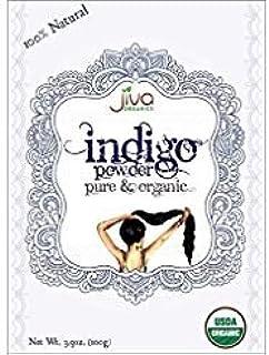 Jiva USDA Organic 100% Pure Indigo Powder 100 Gram - Ecocert Certified