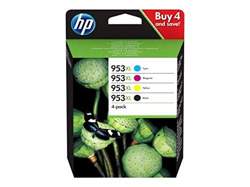 Hewlett Packard HP 3HZ52AE Multipack No. 953 XL BK/C/M/Y