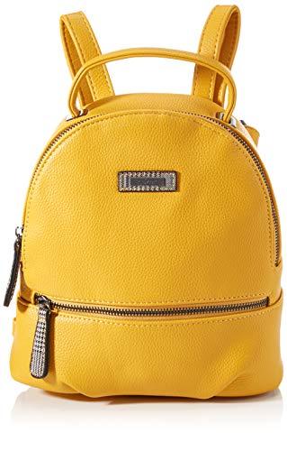 Rieker Damen H1037 Rucksack, gelb, normal